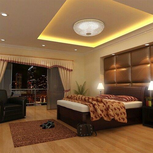 Lighting raised ceiling basement ideas pinterest for Raised bedroom ceiling