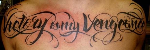 """Tattoo done by Katherine """"Tatu Baby"""" Flores, who was voted back onto Season 3 of Ink Master on Spike"""