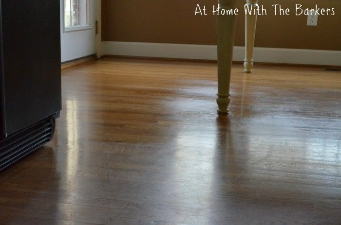 how to clean and shine hardwood floors naturally
