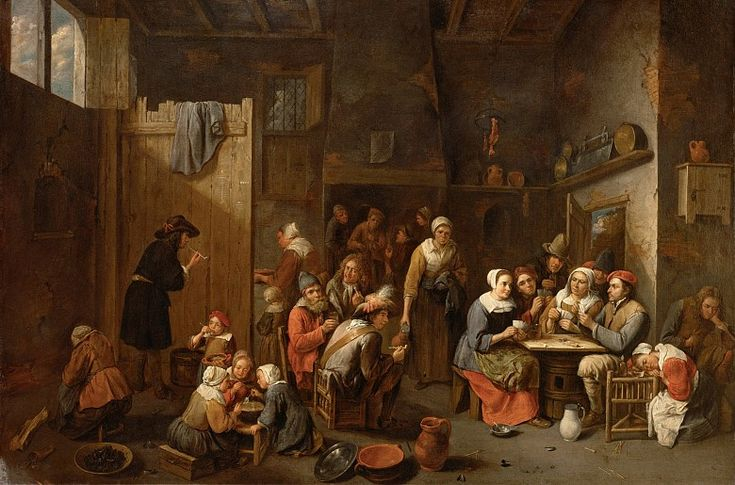 Gillis van tilborch peasant farmstead 17th century for 17th century french cuisine
