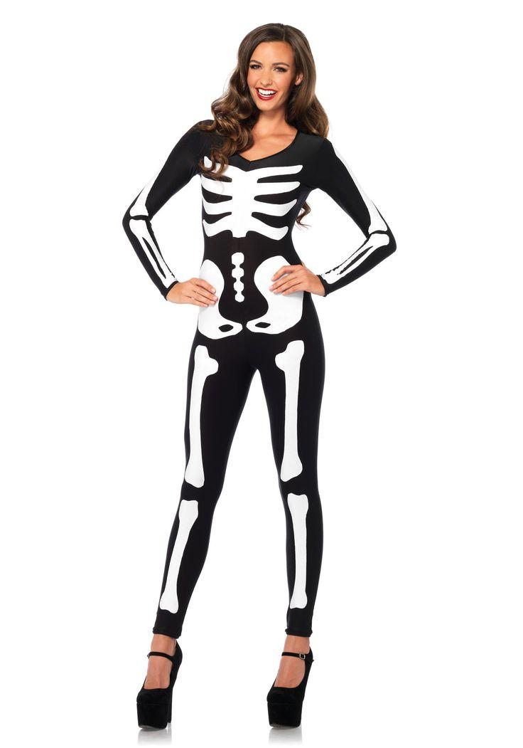 Glow-In-The-Dark Skeleton Fancy Dress Costume