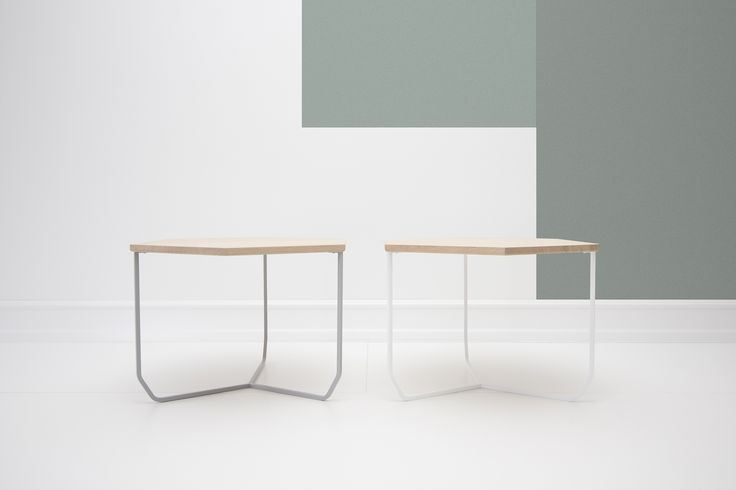 ABEL SIDE TABLE Combines a light and lively structure with geometric elegance.A furniture for when ...