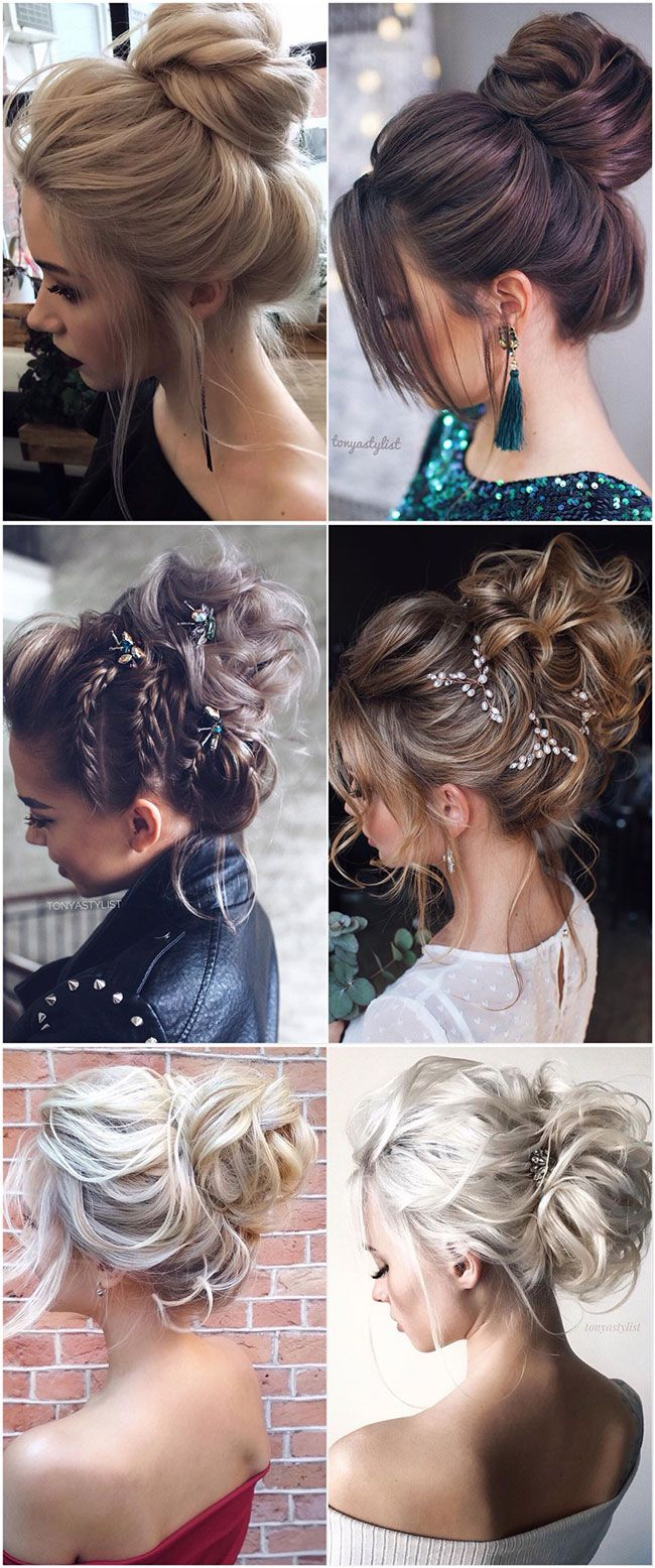 60 Best Wedding Hairstyles From Tonyastylist For The Modern Bride Long Hair Updo Hair Styles Vintage Hairstyles For Long Hair