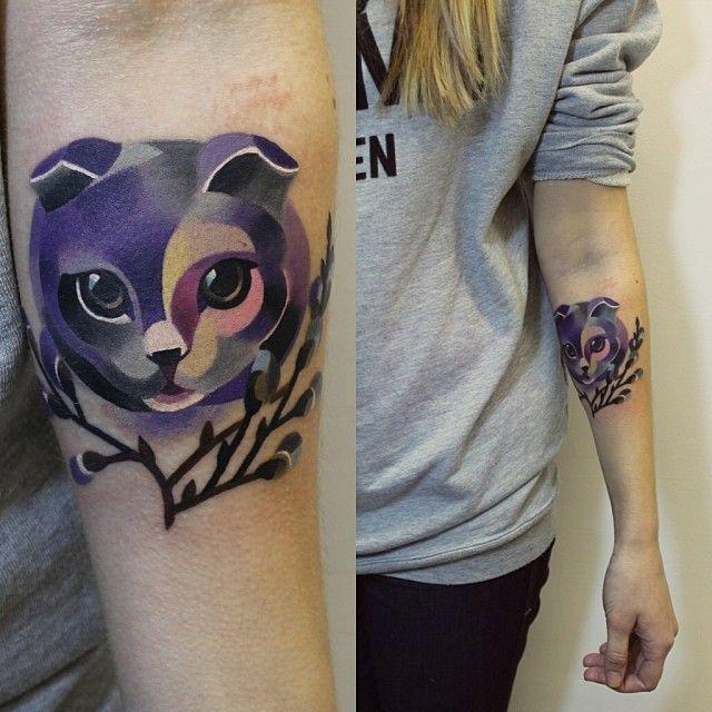 17 Best Ideas About Kitten Tattoo On Pinterest