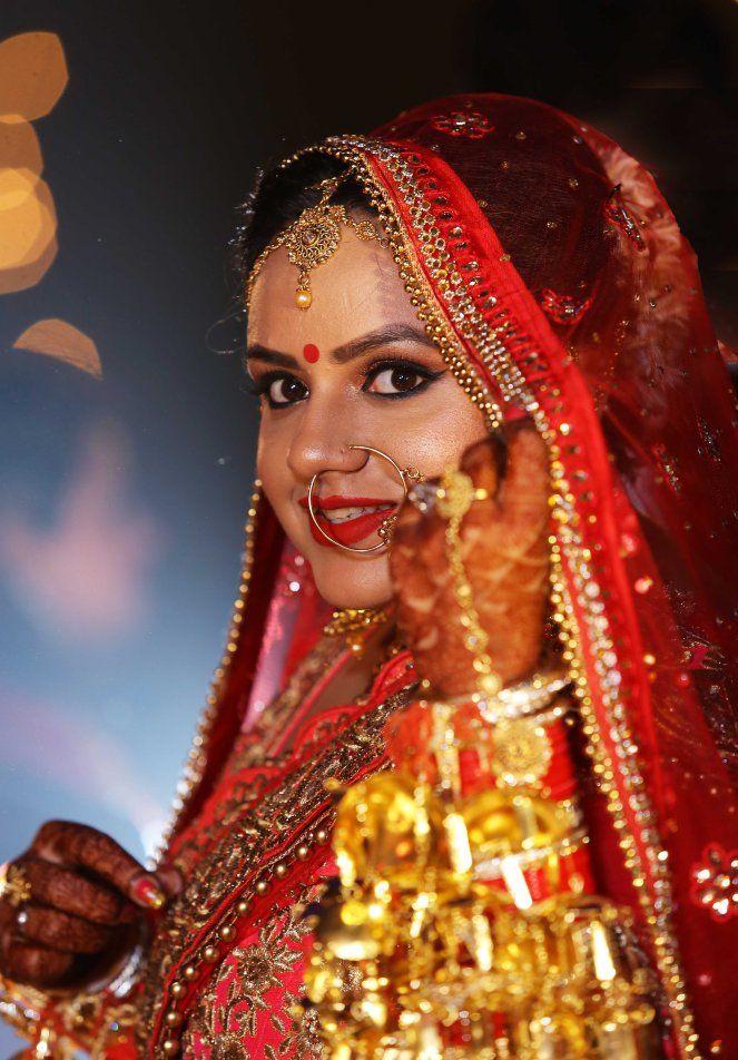 beautiful bride - wedding day