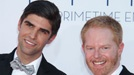 """FameFlynet    """"Modern Family"""" star Jesse Tyler Ferguson is engaged to Justin Mikita. The actor announced the news in a video with Tie the Knot on September 19.    Ferguson popped the question around the same time his co-star Sofia Vergara got engaged to Nick Loeb.    Ferguson and Mikita have been together since January 2011."""