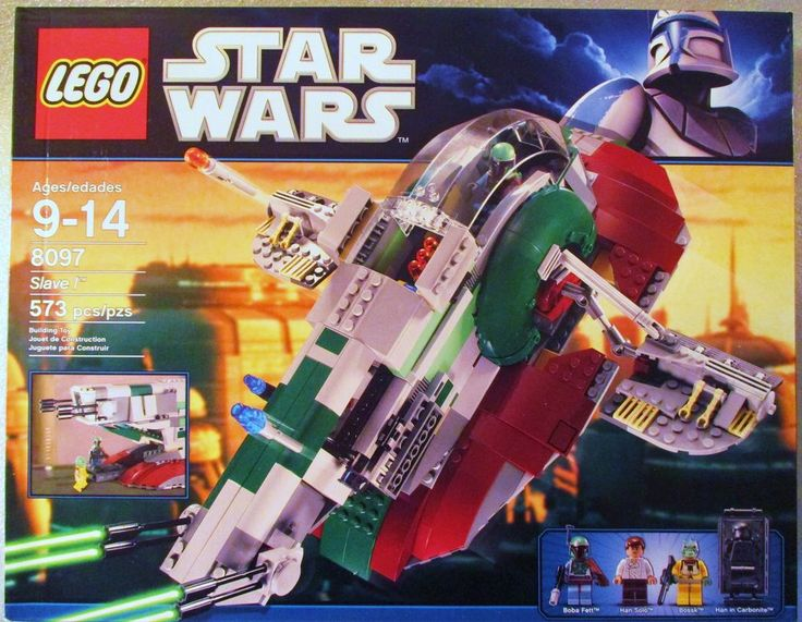 Retired Lego Star Wars 8097 SLAVE 1 Spacecraft New Sealed Boba Fett Han Solo  #LEGO