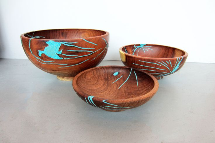 In The Moment: Turquoise Inlaid Bowls « Louis