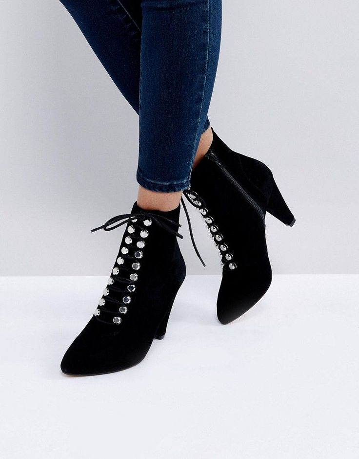 KG KURT GEIGER KG BY KURT GEIGER RAPIDO SUEDE LACE UP ANKLE BOOTS - BLACK. #kgkurtgeiger #shoes #