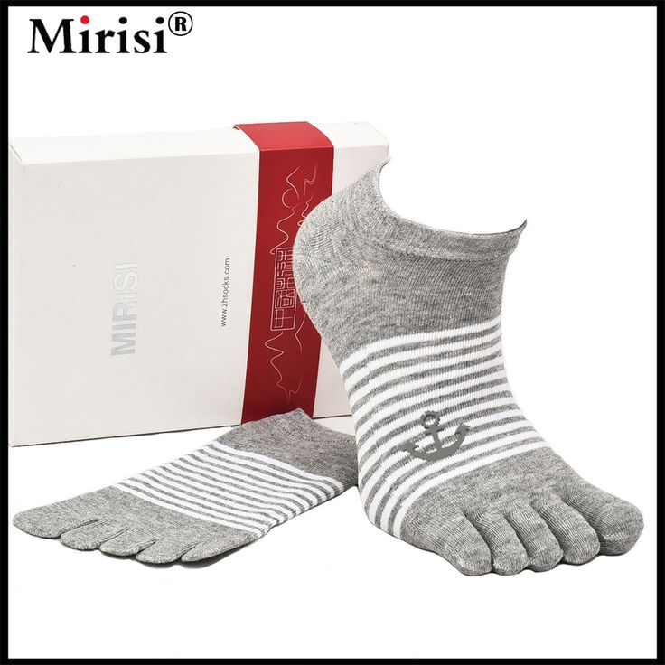 Hot sale brand MIRISI Men Toe Socks Casual Ankle Socks Five Fingers Socks With Toes High Quality Free Shipping