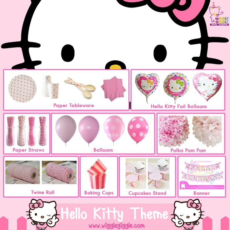 Hello Kitty Stuff Party.. Visit us at www.wigglegiggle.com