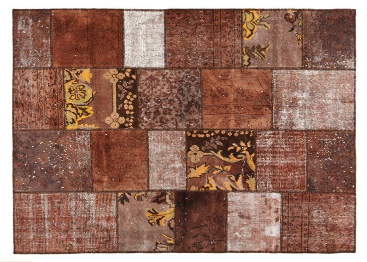 Patchwork Brown