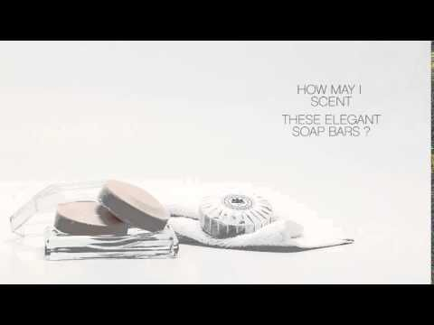 Video - Delicate soap bars with the signature fragrance of Hotel Grande Bretagne.
