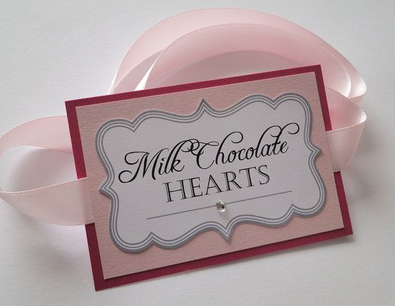 Custom Candy Buffet Labels for Wedding or by sweettalkdesigns, $40.00