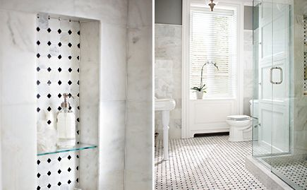 and white mosaic hoyt pinterest home black and home depot