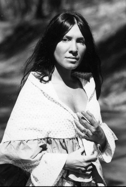 Buffy Sainte-Marie.