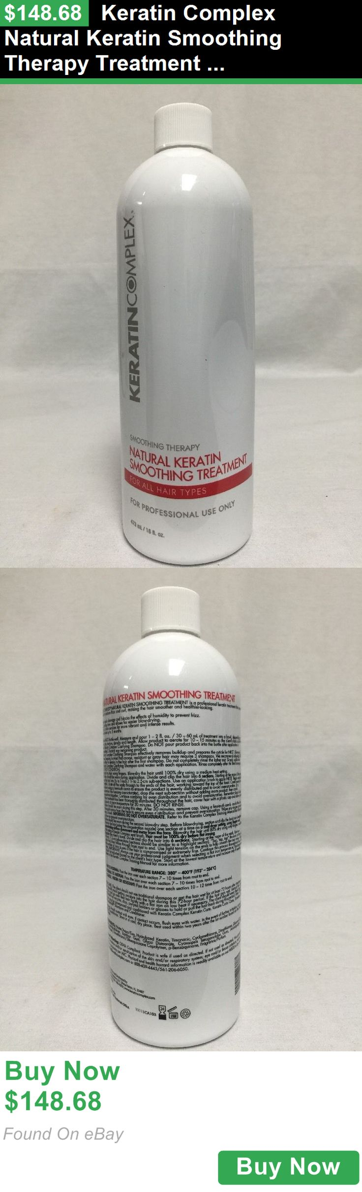 Relaxers and Straightening Prod 177662: Keratin Complex Natural Keratin Smoothing Therapy Treatment 16 Oz / 473 Ml BUY IT NOW ONLY: $148.68