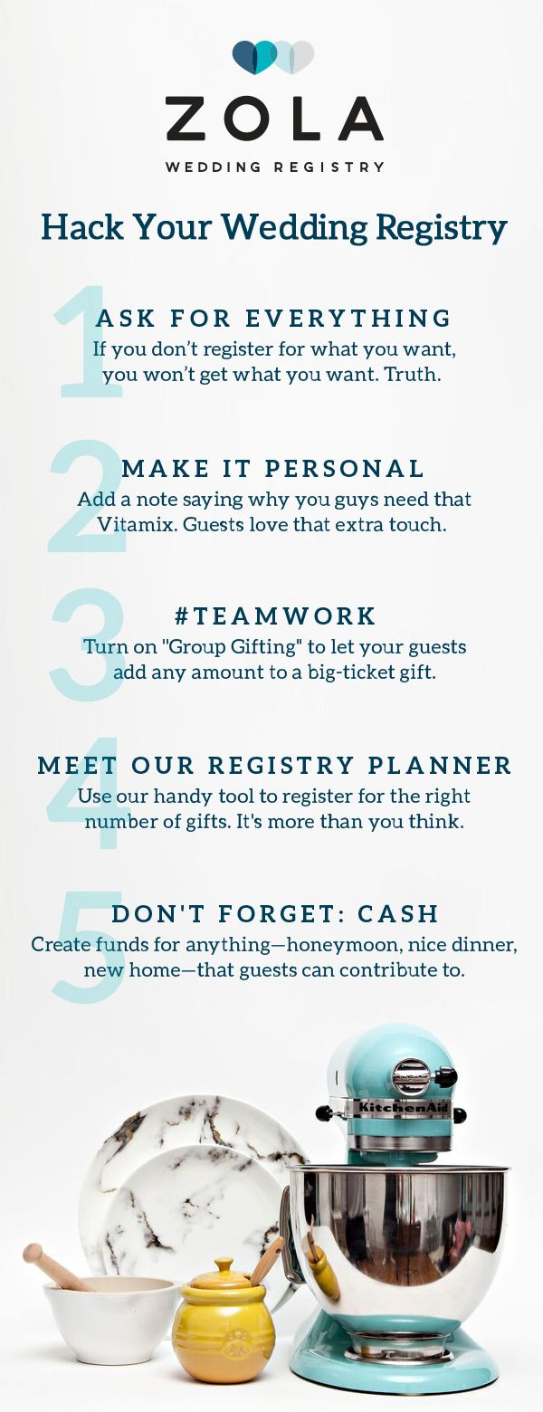 How To Create Your Dream Wedding Registry