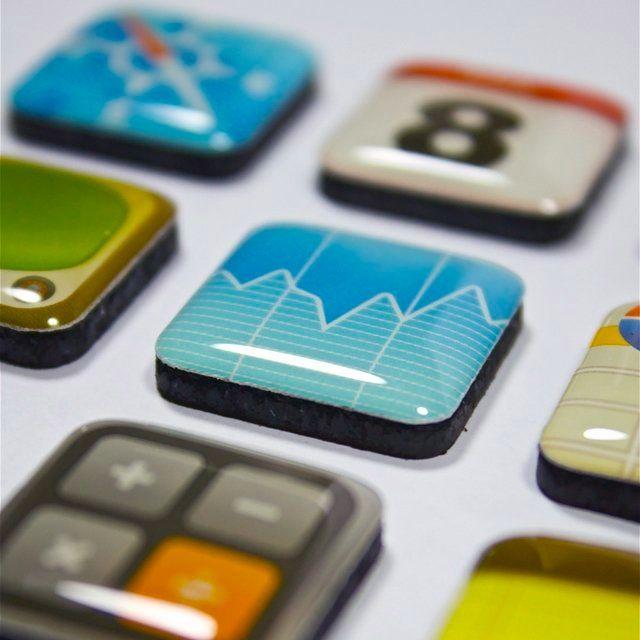Набор магнитов 'App Magnets' http://www.pichshop.ru/goods/41078/nabor_magnitov_app_magnets/
