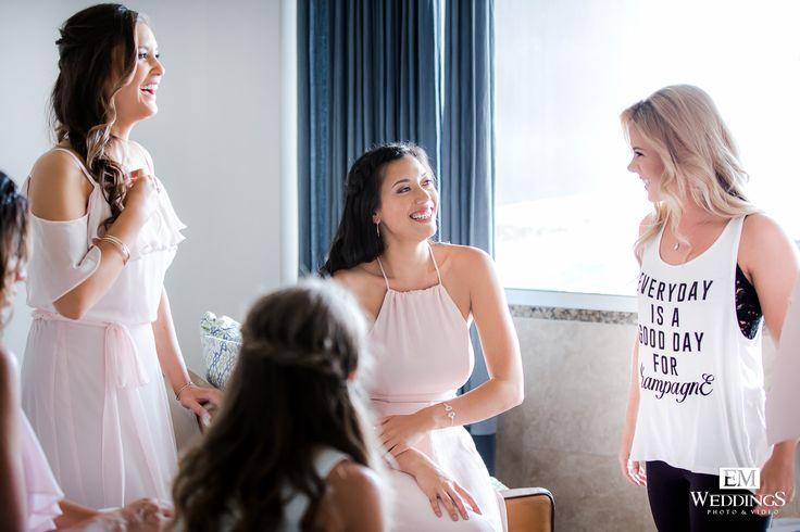 Bride, getting ready in Los Cabos, México. #emweddings #destinationweddings