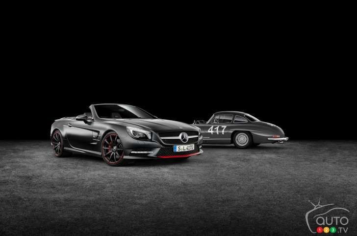 Mercedes-Benz launches SL Mille Miglia 417 Special Edition orders begin April 7 2015 It will be available in SL400 and SL 500 trim levels
