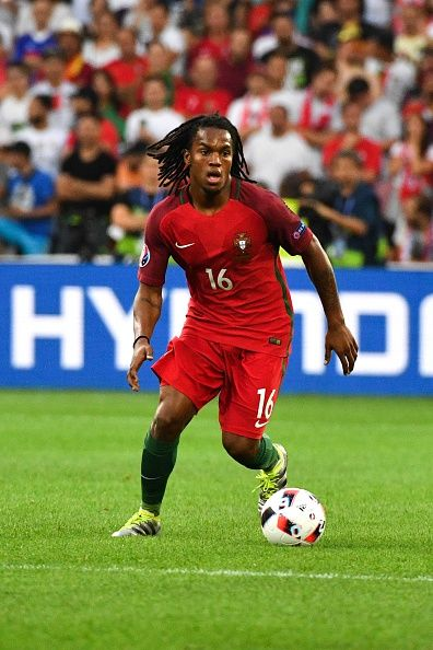 #EURO2016 Renato SANCHES of Portugal during the UEFA Euro 2016 Quarter Final between Poland and Portugal at Stade Velodrome on June 30 2016 in Marseille France