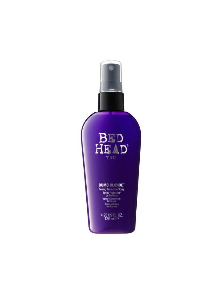 Tigi Bed Head Dumb Blonde Purple Toning Protection Spray 125ml