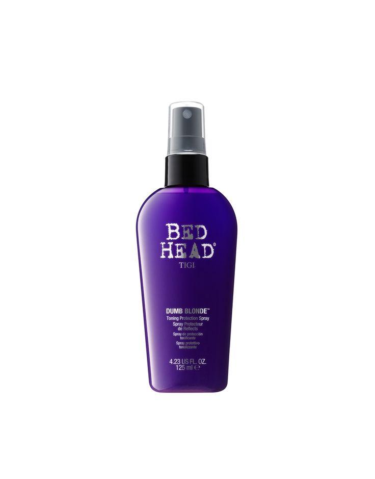 Image 1 ofTigi Bed Head Dumb Blonde Purple Toning Protection Spray 125ml