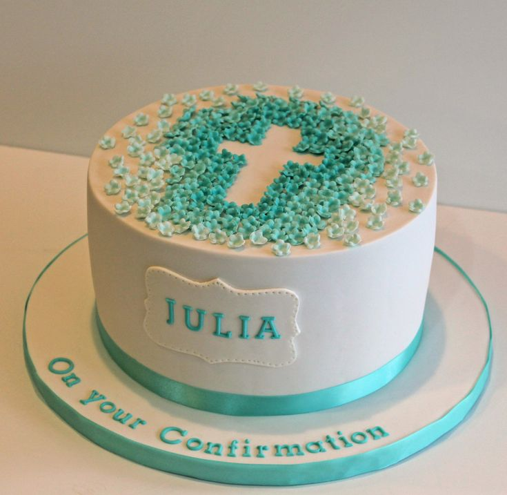 https://flic.kr/p/sbnmN8 | Confirmation Cake