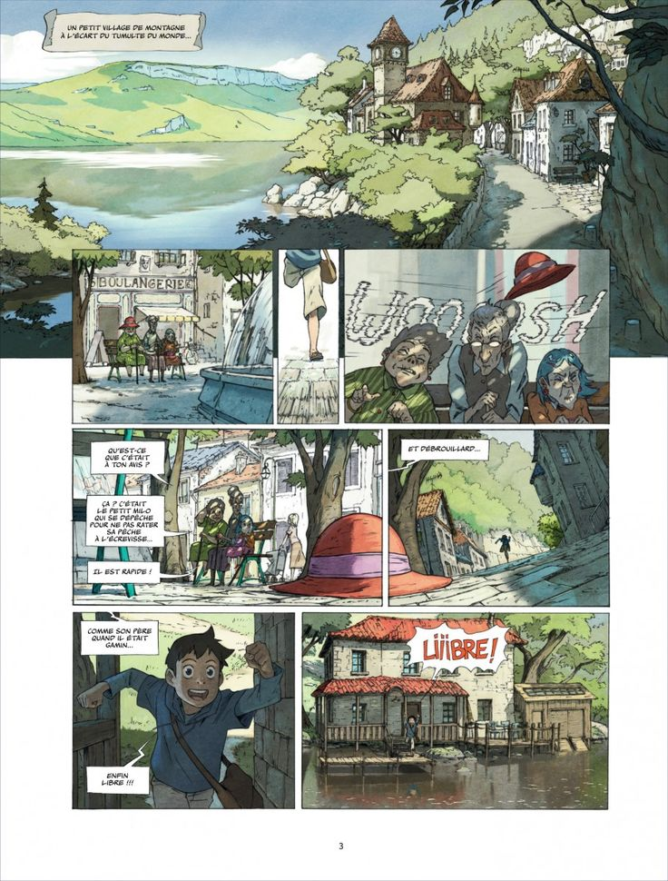 "CATSUKA - New preview (1st pages) from ""Le Monde de Milo""..."