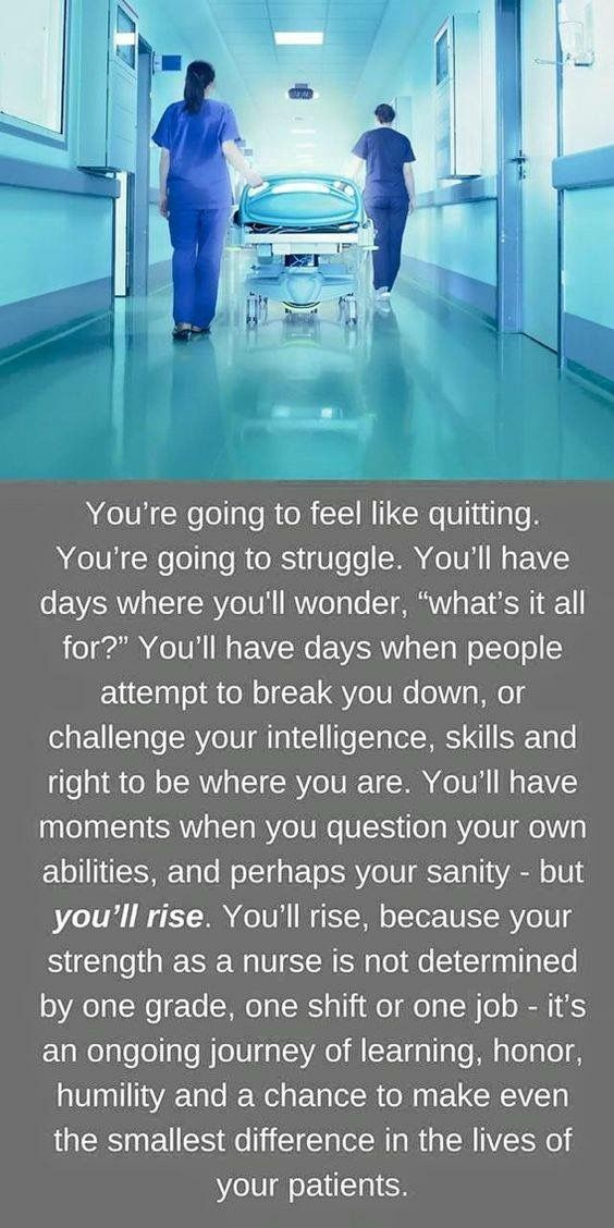 So hard to keep this in mind after 30+ years of nursing