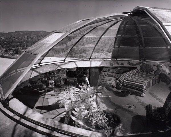 The Interior Of Bernard Judge S Residence Dome House