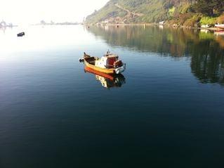 Puerto Montt, Chile. A quaint fishing town