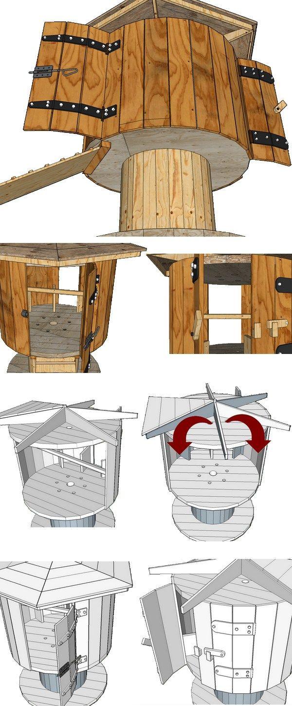les 25 meilleures id es de la cat gorie touret sur pinterest bobines de c ble en bois bobines. Black Bedroom Furniture Sets. Home Design Ideas