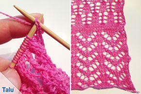 Lace-Stricken lernen – DIY-Anleitung für Anfänger