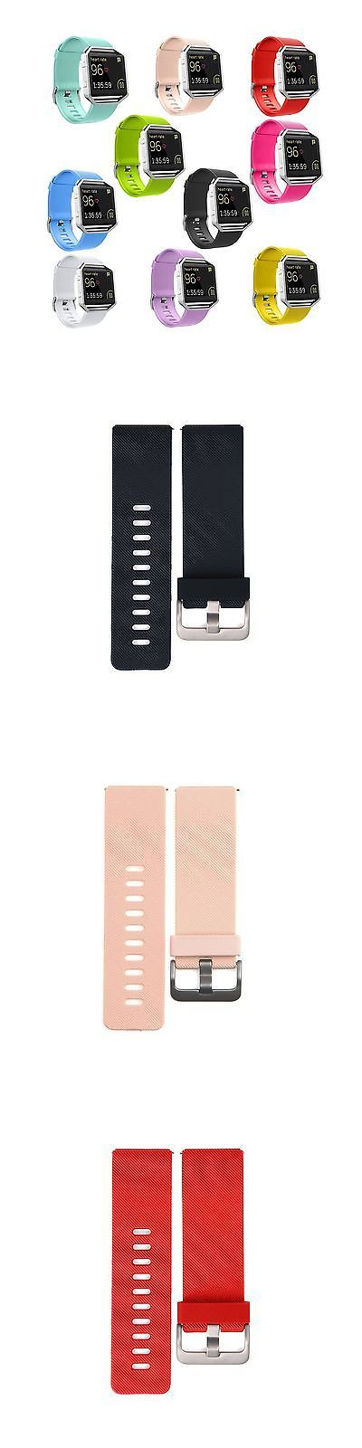 Fit Tech Parts and Accessories 179799: Mega Small Color 10Pk Silicone Wristband Strap Band Accessories For Fitbit Blaze -> BUY IT NOW ONLY: $39.32 on eBay!