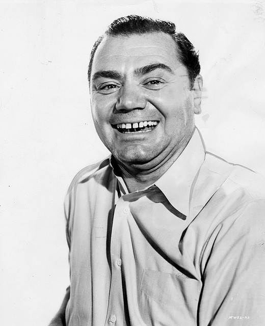 """Ernest Borgnine (1917-2012) won the Academy's Best Actor in a Leading Role for the 1955 """"Marty"""""""