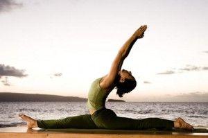 Аштанга йога — хануманасана