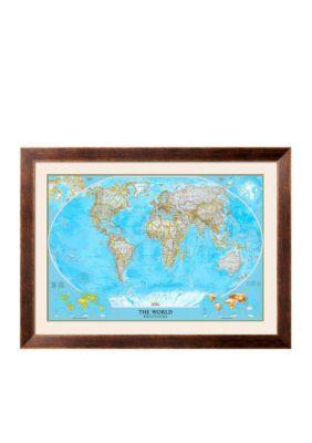 Mer Enn Bra Ideer Om World Political Map På Pinterest - National geographic political map