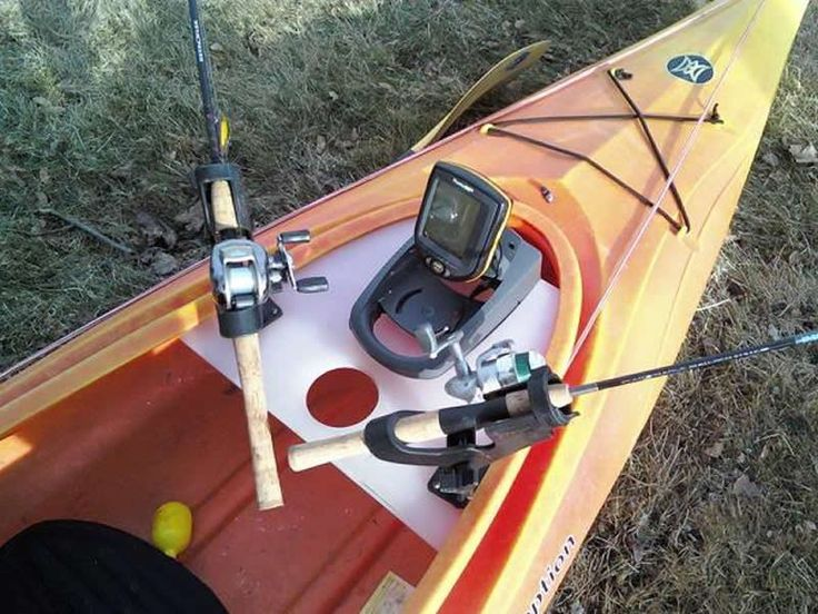 30 creative diy kayak fishing accessories kayak fishing for Kayak accessories fishing