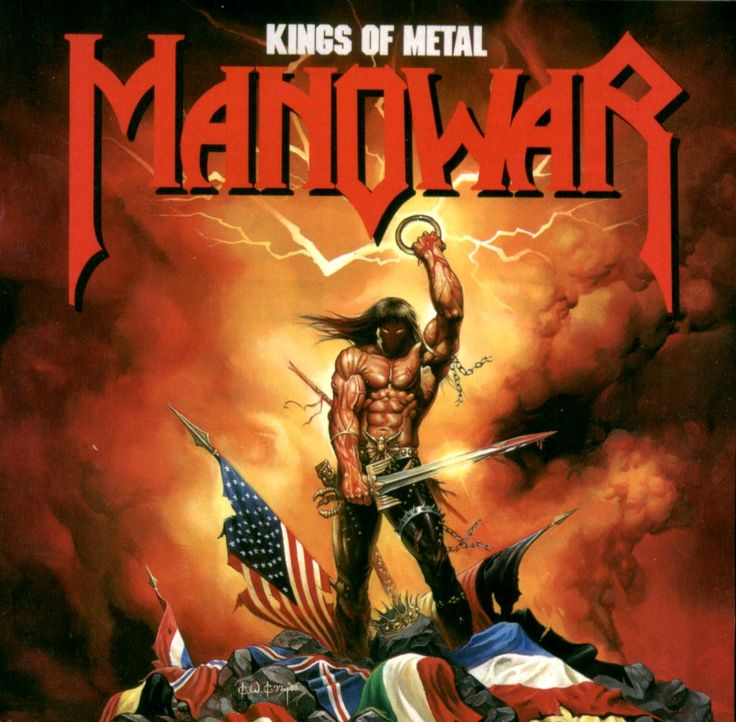 Manowar - Kings of Metal #metal #music #album