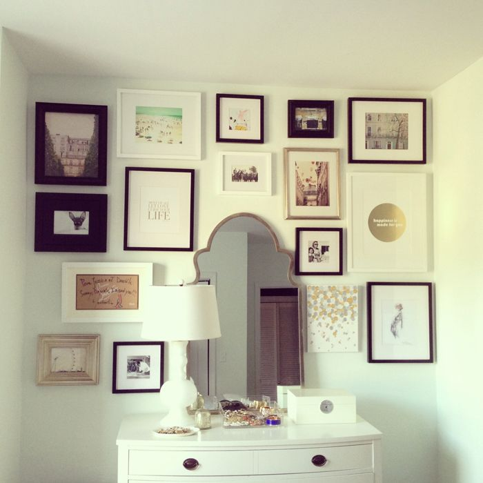 55 best At Home: Gallery Walls images on Pinterest   Home ideas, My ...