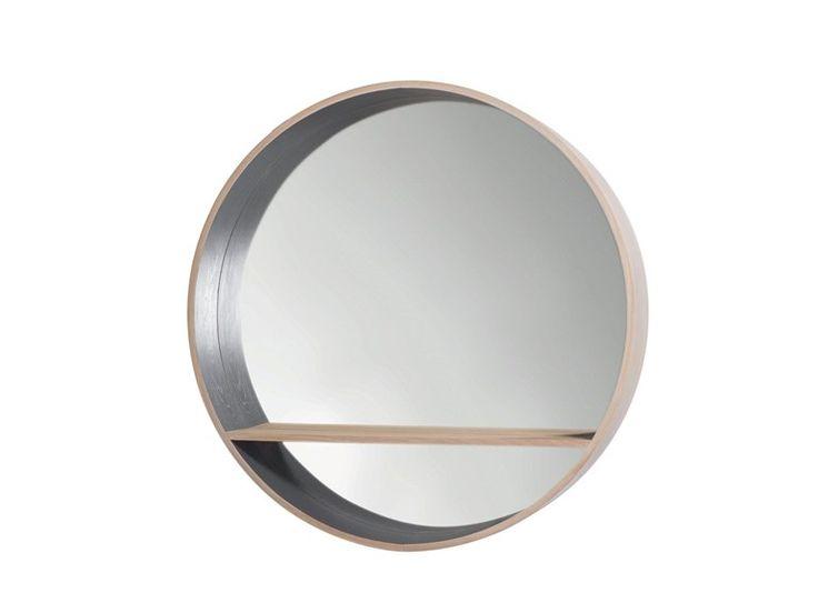 oak 39 mirror console 39 designed by herv langlais for drugeot labo mirrors pinterest. Black Bedroom Furniture Sets. Home Design Ideas