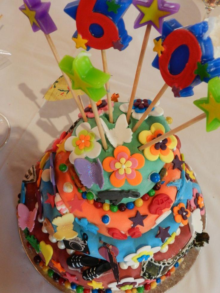 Topsy Turvy Take 1 60th birthday
