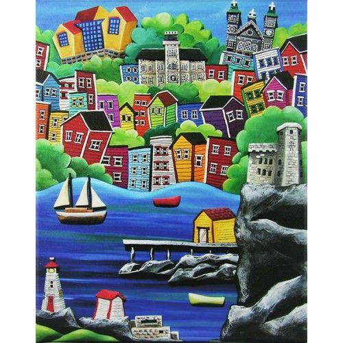 St. John's Harbour by Cara Kansala