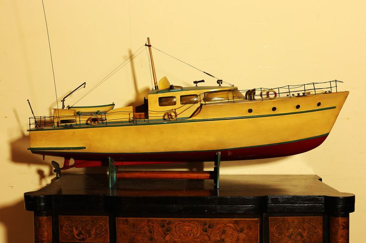 Barca Motoscafo in Legno Yacht Vintage Robert Wooden Boat Old Ship anni '70