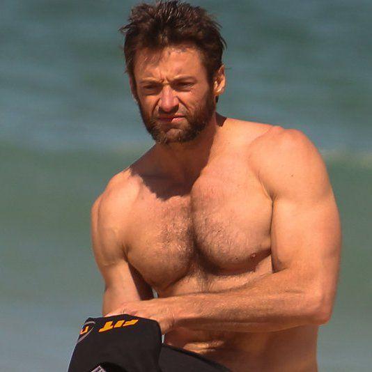 Hugh Jackman Puts on a Shirtless Show Down Under