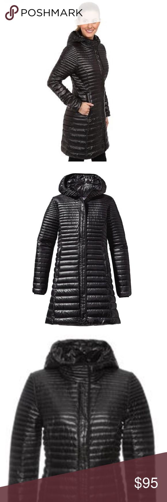 Patagonia Fiona Down Parka 🌚 SALE! Authentic Women's Full Zip Long Down Parka Jacket, Black, US Size M, NEW WITH TAGS Patagonia Jackets & Coats