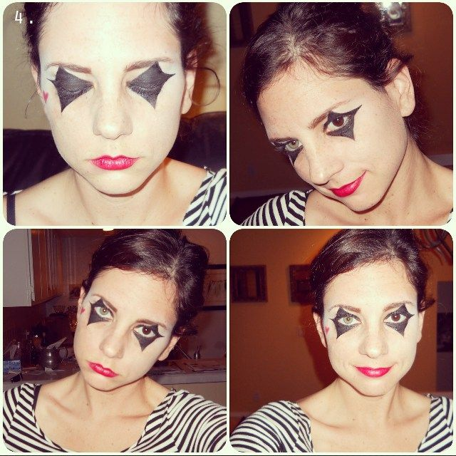 """Résultat de recherche d'images pour """"mime makeup without white"""""""