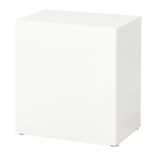 "BESTÅ Shelf unit with door - Lappviken white, 23 5/8x15 3/4x25 1/4 "" - IKEA"